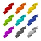 Kleurrijke vectorbanners Stock Afbeeldingen