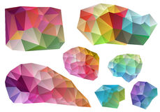 Kleurrijke vectorontwerpelementen Royalty-vrije Stock Foto