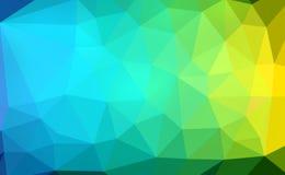 Kleurrijke veelhoek Royalty-vrije Stock Foto's