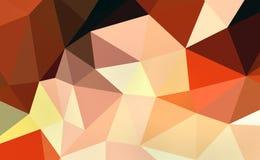 Kleurrijke veelhoek Stock Foto