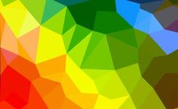 Kleurrijke veelhoek Royalty-vrije Stock Afbeelding