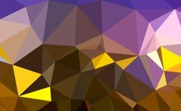 Kleurrijke veelhoek Stock Fotografie