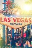 Kleurrijke Vegas royalty-vrije stock afbeelding