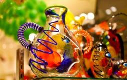 Kleurrijke Venetiaanse herinnering van glas Royalty-vrije Stock Foto