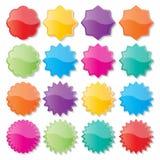 Kleurrijke verbindingen Stock Afbeelding