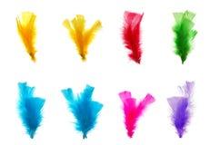 Kleurrijke veren Royalty-vrije Stock Afbeeldingen