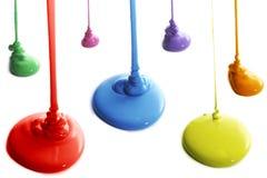 Kleurrijke verf Stock Afbeeldingen