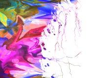 Kleurrijke verfachtergrond Royalty-vrije Stock Fotografie