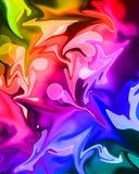 Kleurrijke verfachtergrond Royalty-vrije Stock Afbeeldingen
