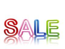 Kleurrijke verkoop Royalty-vrije Stock Afbeeldingen