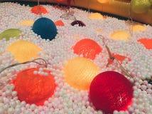 Kleurrijke Verlichtingsbal Royalty-vrije Stock Afbeelding