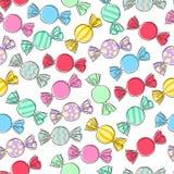 Kleurrijke verpakte suikergoedachtergrond Royalty-vrije Stock Foto