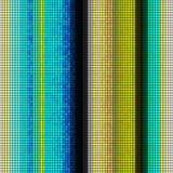 Kleurrijke Vierkante Abstracte Achtergrond Stock Afbeelding