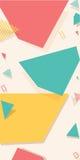 Kleurrijke vierkante achtergrond royalty-vrije illustratie