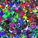 Kleurrijke vierkante tegel stock afbeeldingen