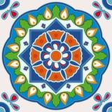 Kleurrijke vierkante tegel Royalty-vrije Stock Afbeelding