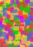 Kleurrijke vierkanten Stock Fotografie