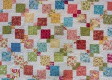 Kleurrijke Vierkanten met Witte Achtergrond stock afbeeldingen