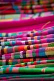 Kleurrijke Vietnamese headscarf Royalty-vrije Stock Foto