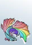 Kleurrijke vissen Stock Afbeelding