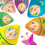 Kleurrijke vissen Royalty-vrije Stock Afbeeldingen