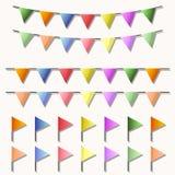 Kleurrijke vlag Royalty-vrije Stock Afbeeldingen