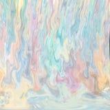 Kleurrijke vlammen van waterverf het schilderen stock illustratie