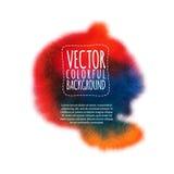 Kleurrijke vlek vector illustratie