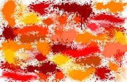 Kleurrijke Vlekken Stock Fotografie