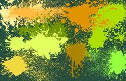 Kleurrijke vlekkenvector Stock Fotografie
