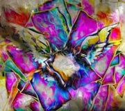 Kleurrijke vleugels vector illustratie
