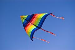 Kleurrijke vlieger Stock Foto's