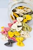 Kleurrijke vlinderdasDeegwaren Stock Fotografie