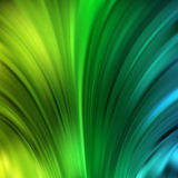 Kleurrijke vlotte lichte lijnenachtergrond Stock Fotografie