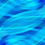 Kleurrijke vlotte lichte lijnenachtergrond Stock Foto