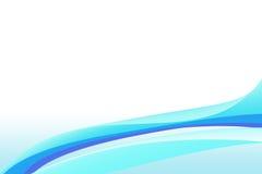 Kleurrijke Vlotte Lijnachtergrond Stock Afbeelding