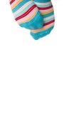 Kleurrijke voeten Stock Afbeeldingen