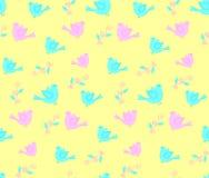 Kleurrijke vogels Stock Foto