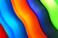Kleurrijke Vormingen stock foto's