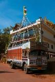 Kleurrijke vrachtwagen Stock Afbeelding