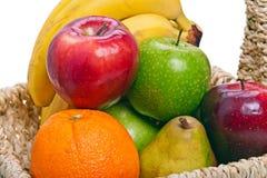 Kleurrijke vruchten close-up Stock Afbeelding
