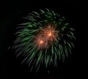 Kleurrijke Vuurwerkachtergrond Feesttijd Gelukkig Nieuwjaar Het concept van het geluk Creatief art Samenvatting gekleurde vuurwer stock foto