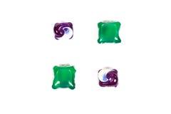Kleurrijke wascapsules royalty-vrije stock foto