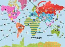 Kleurrijke wereld Royalty-vrije Stock Fotografie