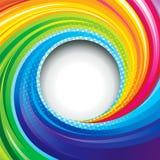 Kleurrijke Werveling stock illustratie