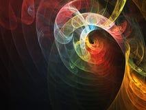 Kleurrijke Werveling Stock Afbeeldingen
