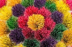 Kleurrijke Wierook Stock Foto's