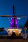 Kleurrijke Windmolen Stock Afbeelding