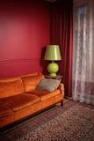 Kleurrijke woonkamer Royalty-vrije Stock Afbeelding