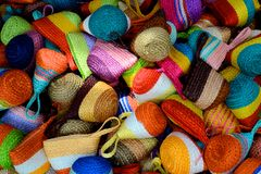 Kleurrijke zak Stock Foto